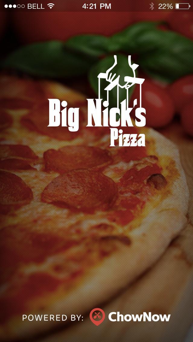 Big Nick's Pizza screenshot 1