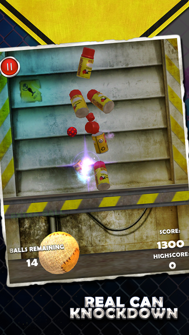 Real Can Knockdown screenshot 1