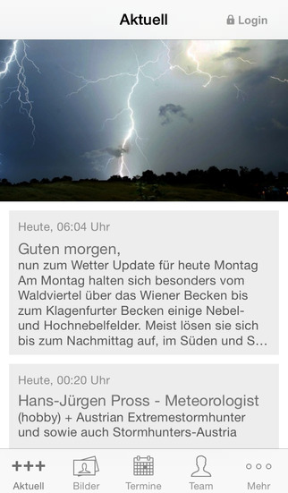 Wetter International screenshot 1