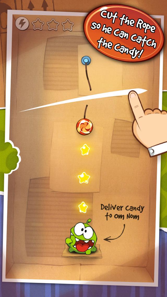 Cut the Rope Original Free screenshot 1