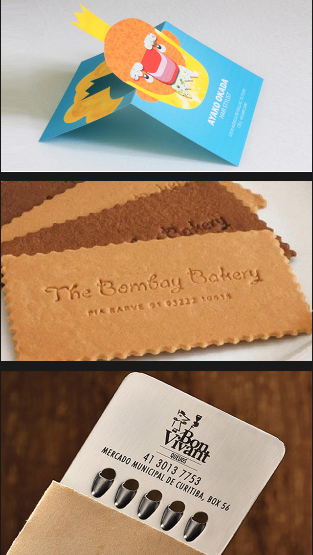 Business Cards- Best Design Idea for Business Card screenshot 2