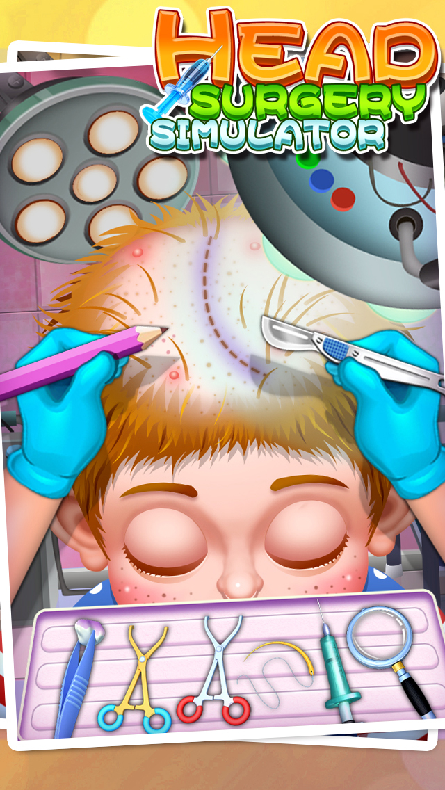 Head Surgery Simulator - Surgeon Games screenshot 1