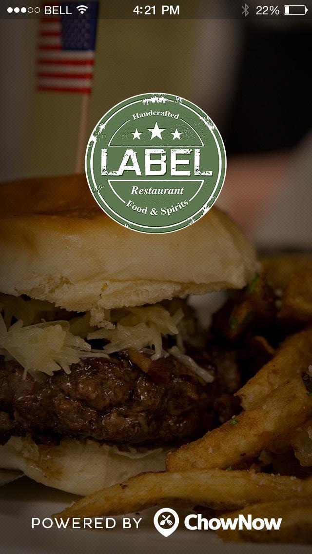 Label Restaurant screenshot 1