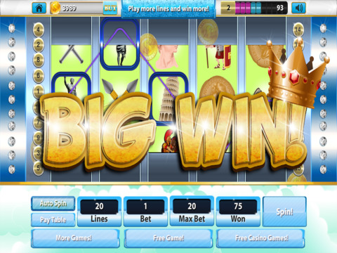 Acropolis Slots Greek God of Riches Casino 777 - ( Win Big With Lucky Bonus Games ) Free screenshot 7