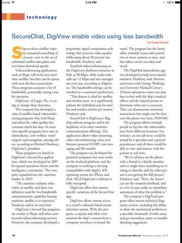 Professional Mariner Magazine screenshot 9