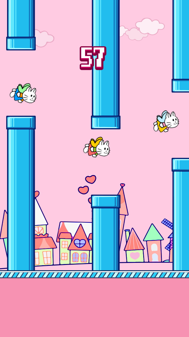 Flying Kitty's Fly Adventure - Fly with Adventurous Tiny & Cute Kitty screenshot 5