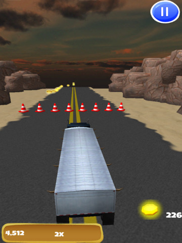Big Rig Trucker: 3D Semi Truck Driving Game - FREE Edition screenshot 9