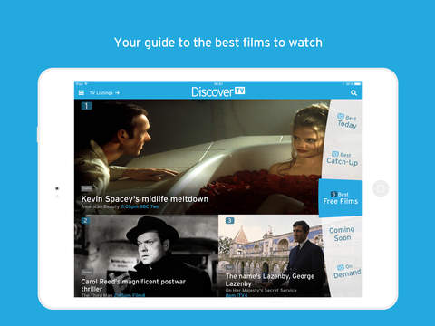 Discover TV by Radio Times – TV guide, films on TV, catch up and listings screenshot 3