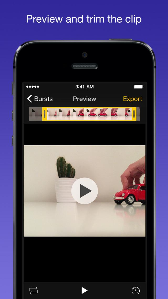 Burstio – Animate your burst photos screenshot 2