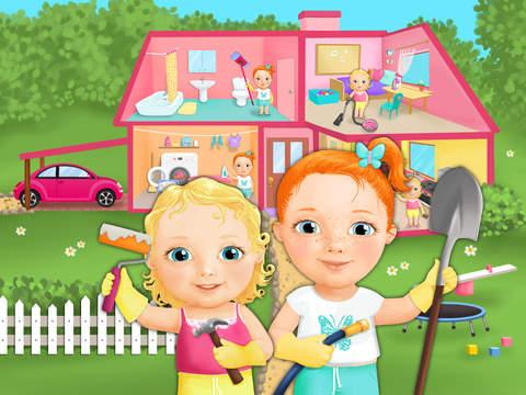 Sweet Baby Girl Clean Up 2 - My House, Garden and Garage (No Ads) screenshot 9