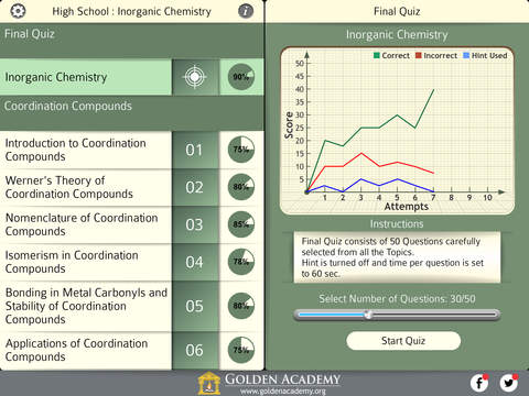 High School : Inorganic Chemistry FREE screenshot 7