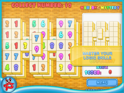 Mahjong Mystery: Case of Numbers screenshot 10