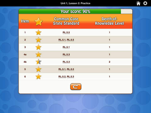 HMH English Learner Assessment Practice Grade 5 screenshot 5