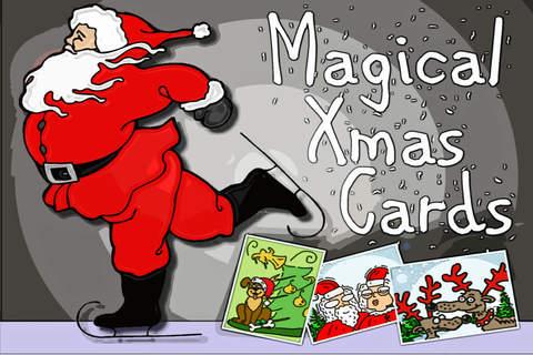 Magical xMas Cards - náhled