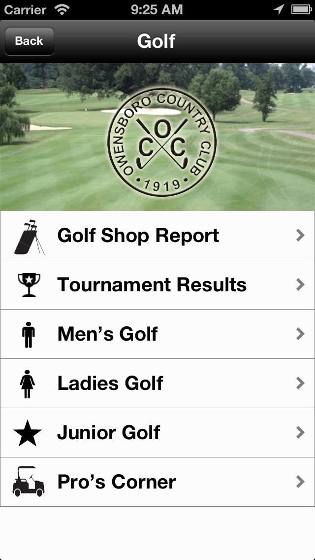 Owensboro Country Club screenshot 3
