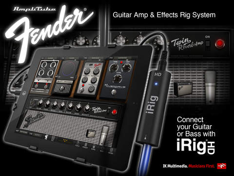 AmpliTube Fender™ FREE for iPad screenshot 2