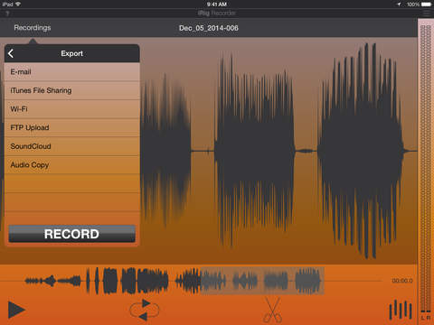 iRig Recorder screenshot 10