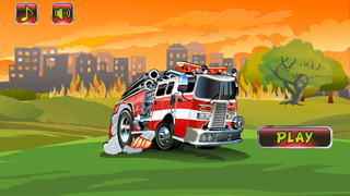 Fire Truck Runner screenshot 1