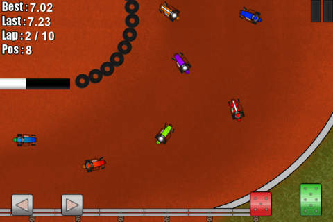 Dirt Racing Mobile Midgets Edition - náhled