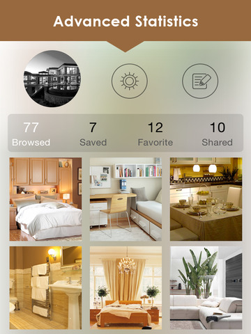 Home Design Ideas Free: 3D Gold & Interi.or Décor screenshot 9