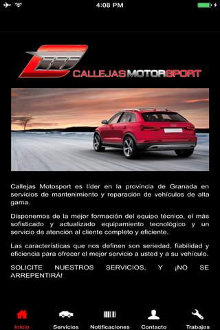 CallejasMotoSport - náhled