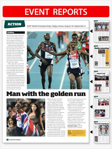 Athletics Weekly Magazine screenshot 9