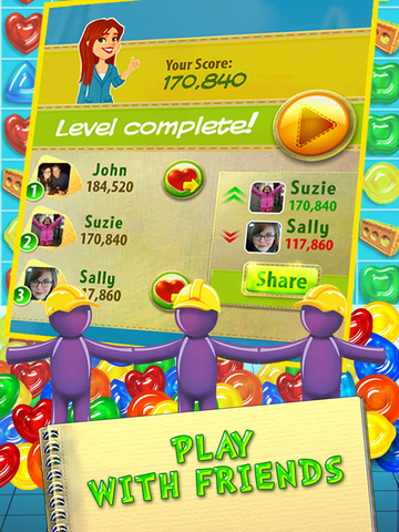 Gummy Drop! – A Match 3 Game screenshot 9