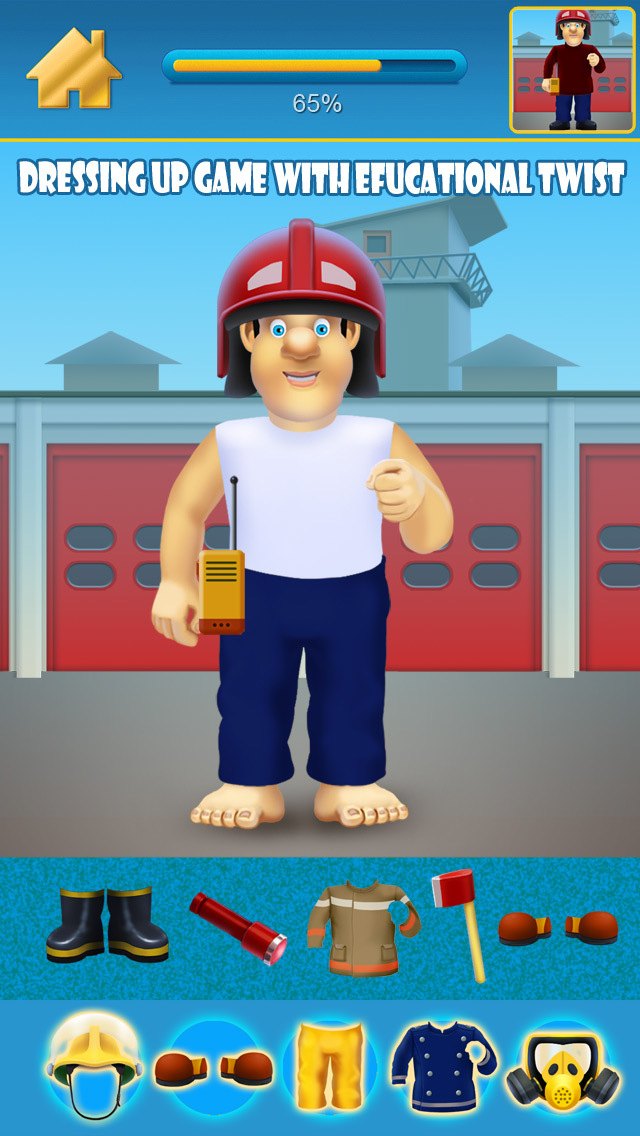 Fireman and Policeman Junior City Heroes Pro - Copy and Draw Fire Rescue Maker Advert Free Game screenshot 2