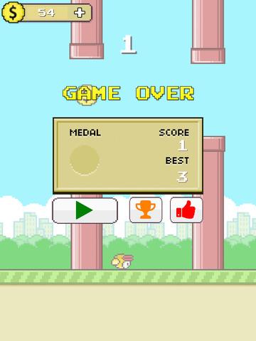 Flappy Hero Go West screenshot 8