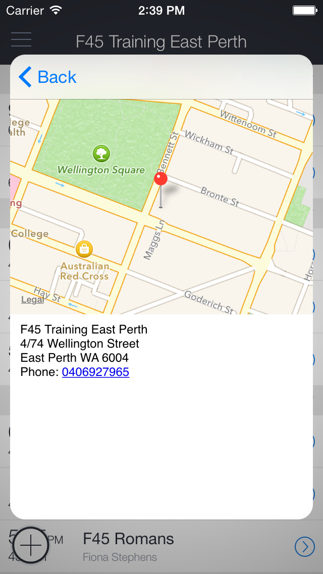 F45 Training East Perth screenshot 1