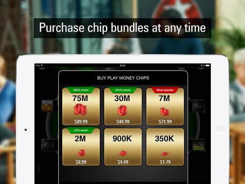 PokerStars Play Money Poker screenshot 7
