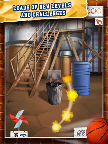 Basketball Paper Flick Pocket Pro 2 – The Top 2014 Free Basket Toss Arcade Games screenshot 6