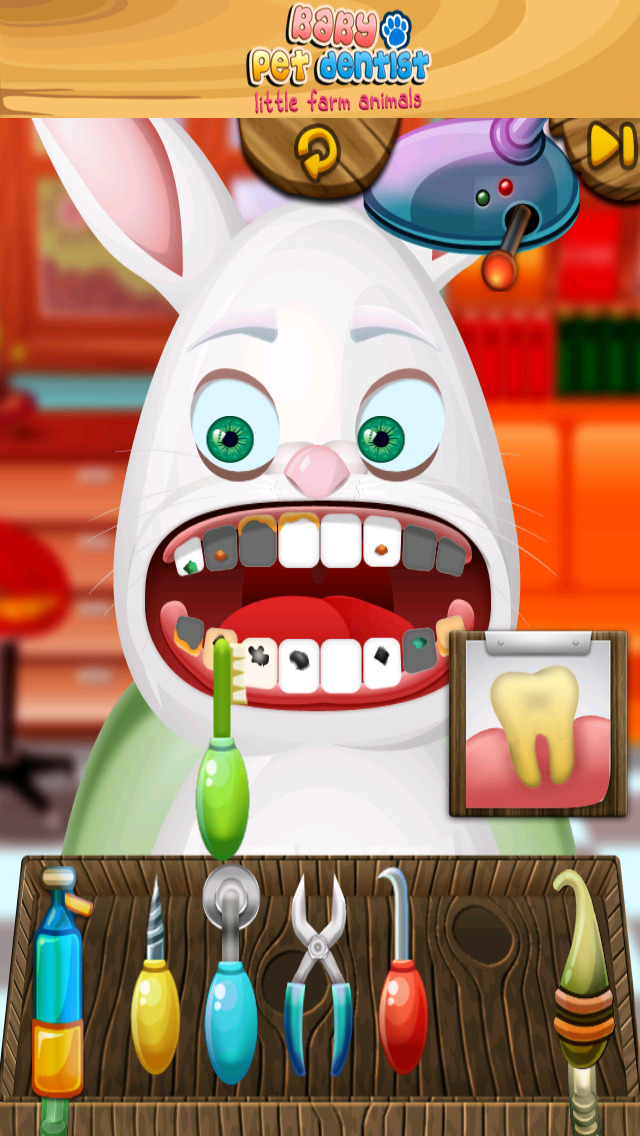 A Baby Pet Dentist Little Farm Animal Family Tooth Doctor PRO screenshot 2