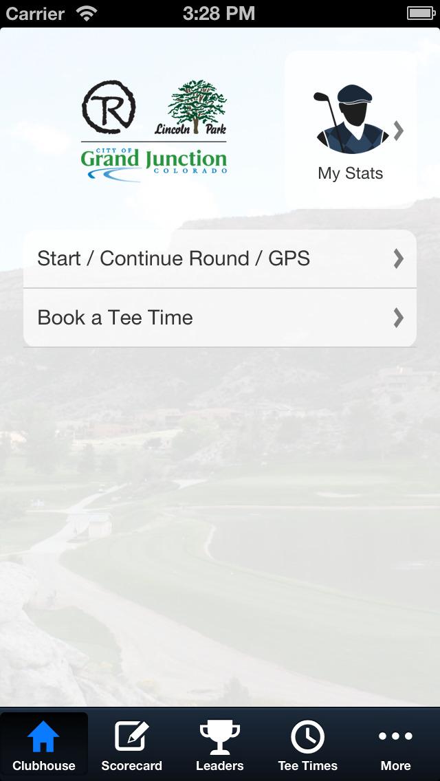 City of Grand Junction Golf screenshot 2