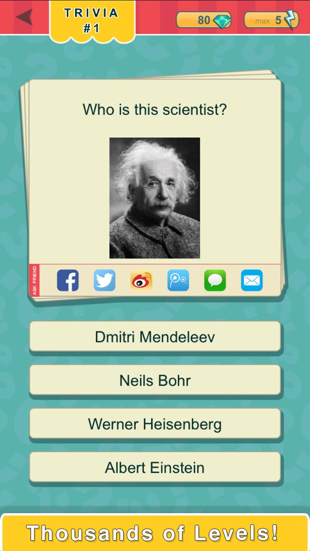 Trivia Quest™ People - trivia questions screenshot 1