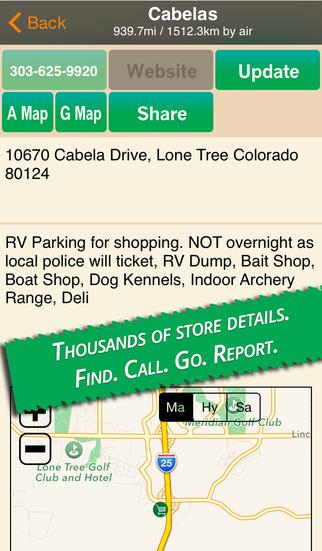 Finding Outdoors Stores screenshot 2