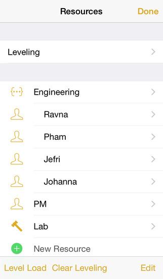 OmniPlan 2 screenshot 5