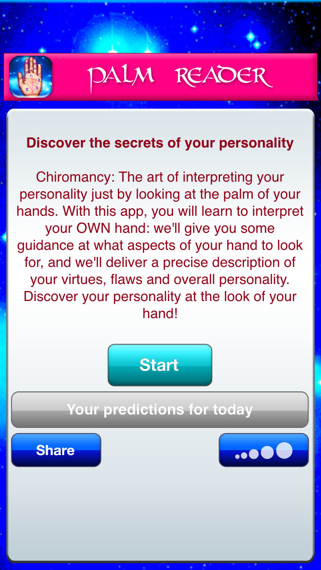 Palm Reader Guide: your personality and fate in palmistry screenshot #2