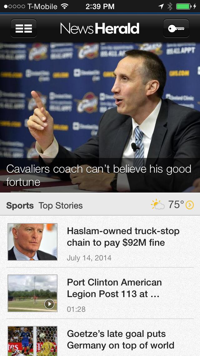 Port Clinton News Herald screenshot 1