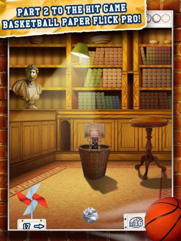 Basketball Paper Flick Pocket Pro 2 – The Top 2014 Free Basket Toss Arcade Games screenshot 9