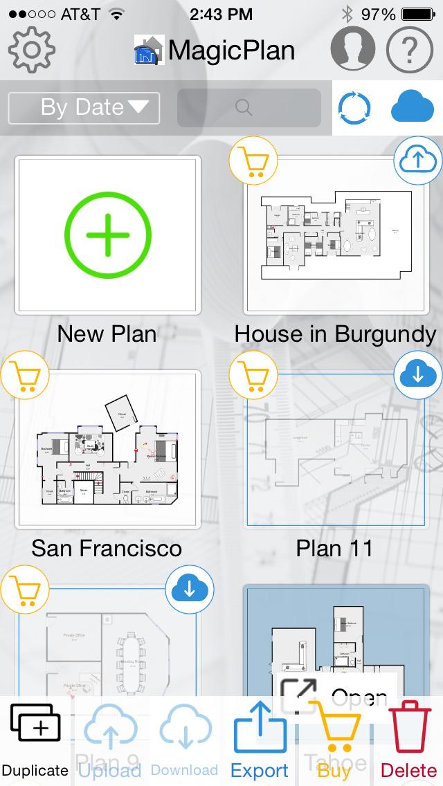 magicplan – 2D/3D floor plans screenshot 2