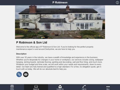 P Robinson & Son Ltd - náhled