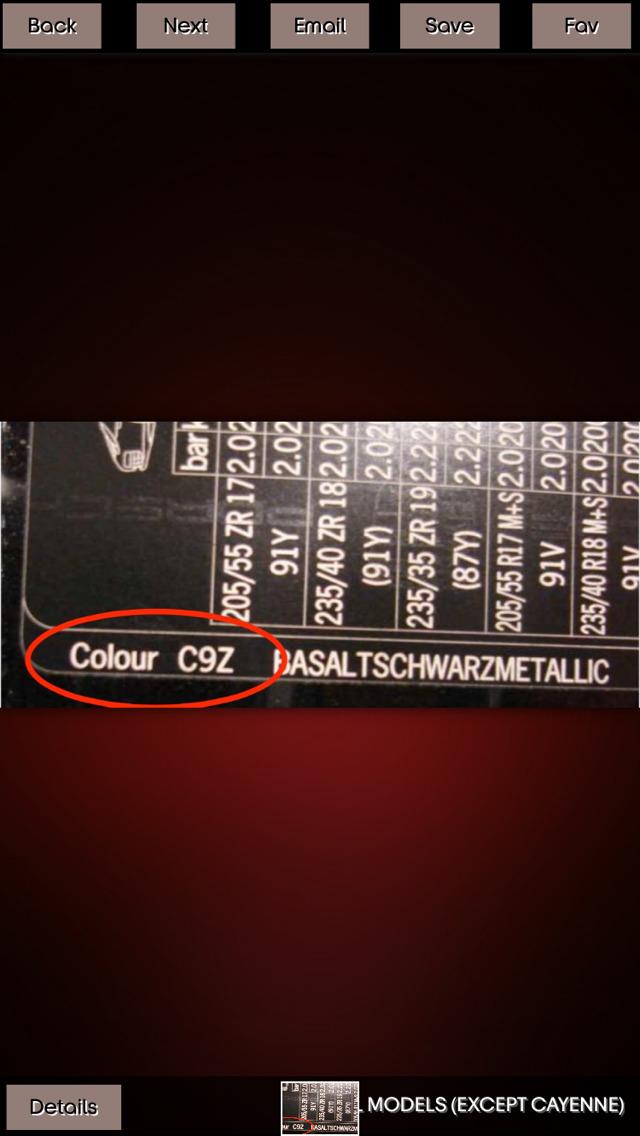 Get Car Color screenshot 1