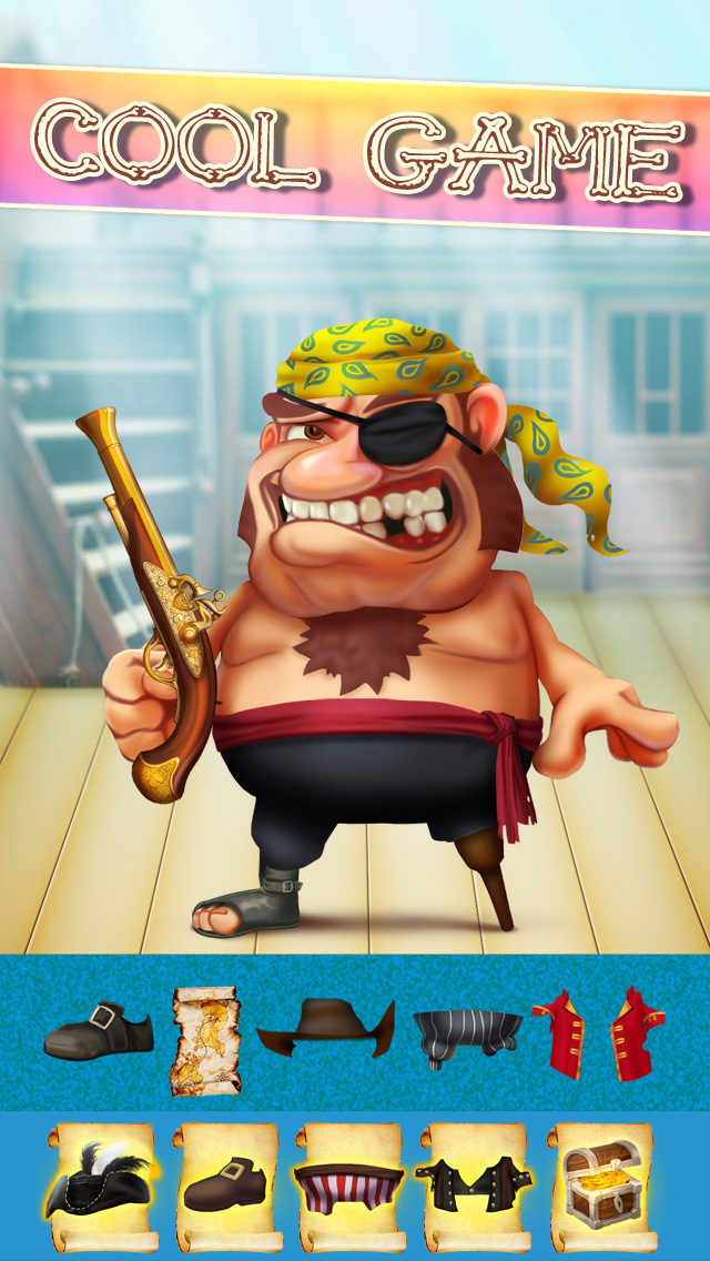 The Super Pirates of Paradise Treasure Island Ship Game For Boys - Free App screenshot 1
