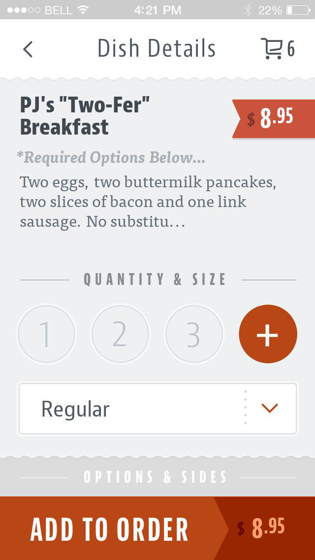 PJ's Pancake House screenshot 4
