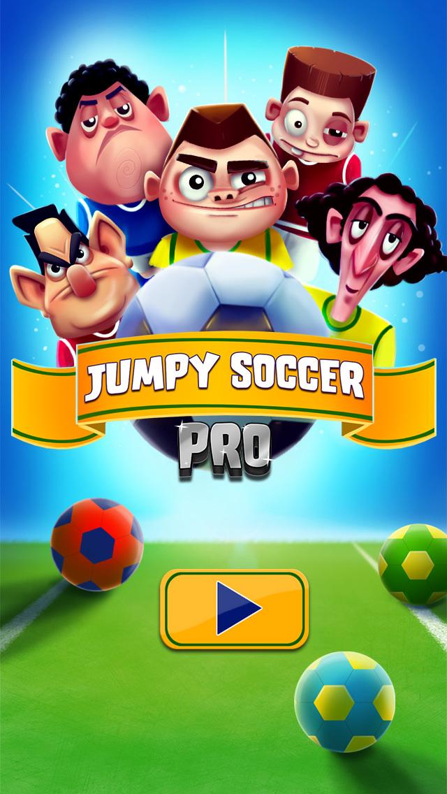 Jumpy Soccer Pro - Top Score Champion screenshot 1
