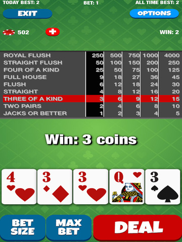 Joker Face Poker screenshot 8