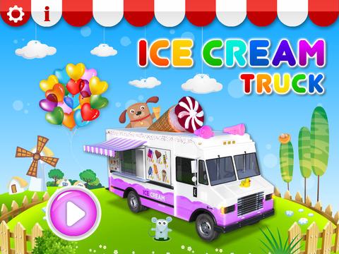Ice Cream & Fire Truck Games 4 screenshot 6
