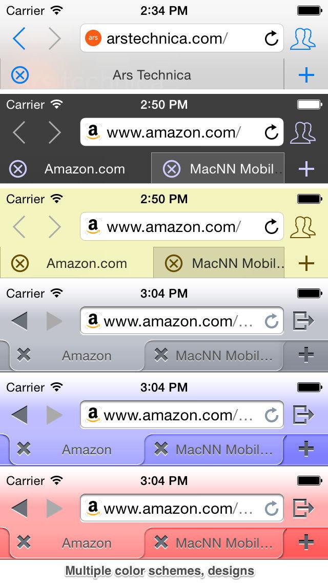 iCab Mobile (Web Browser) screenshot #5