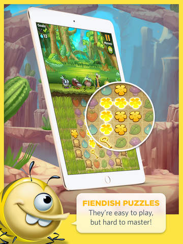 Best Fiends - Puzzle Adventure screenshot 7